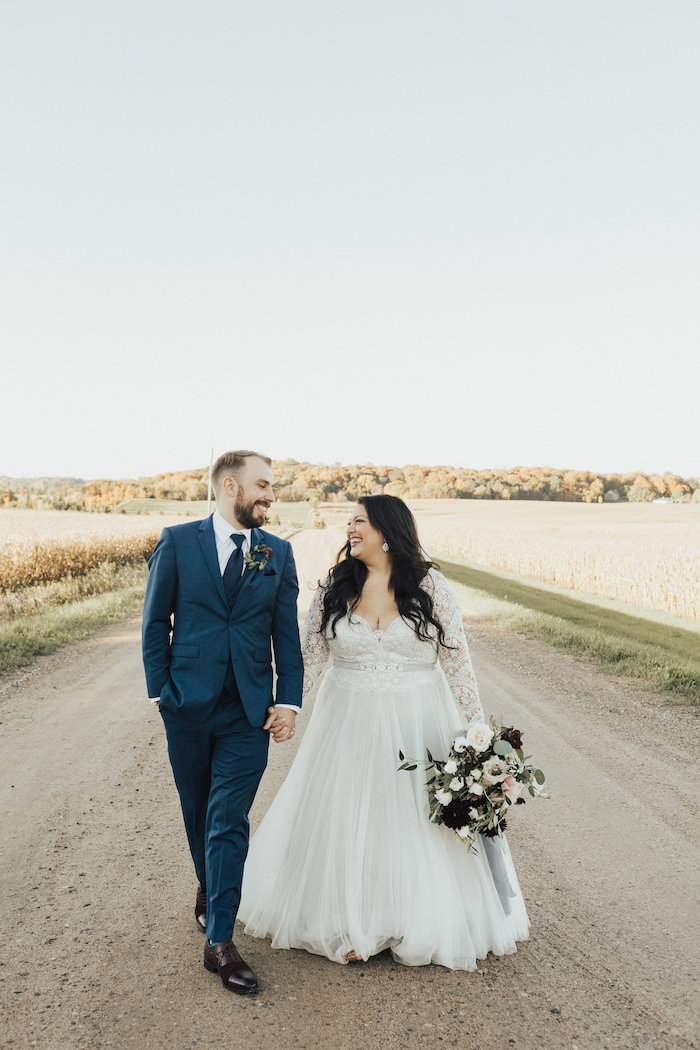 Wedding at Gladden Farms Minnesota