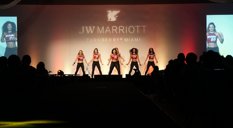 Ross B, DJ Slim Rok and Fusion performing for JW Marriott Miami