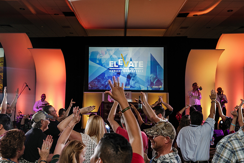 DJ Slim Rok and Fusion at the Elevate 2018 Conference