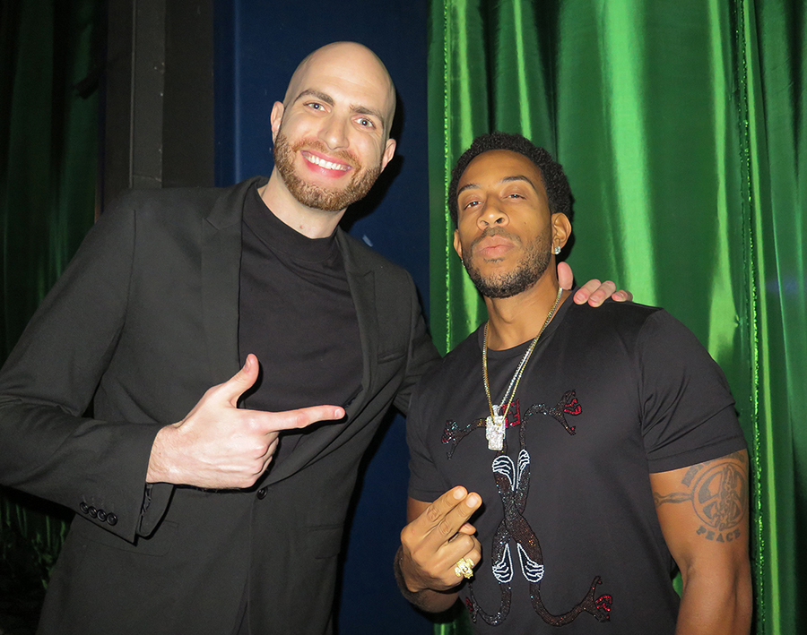 DJ Slim Rok with Ludacris