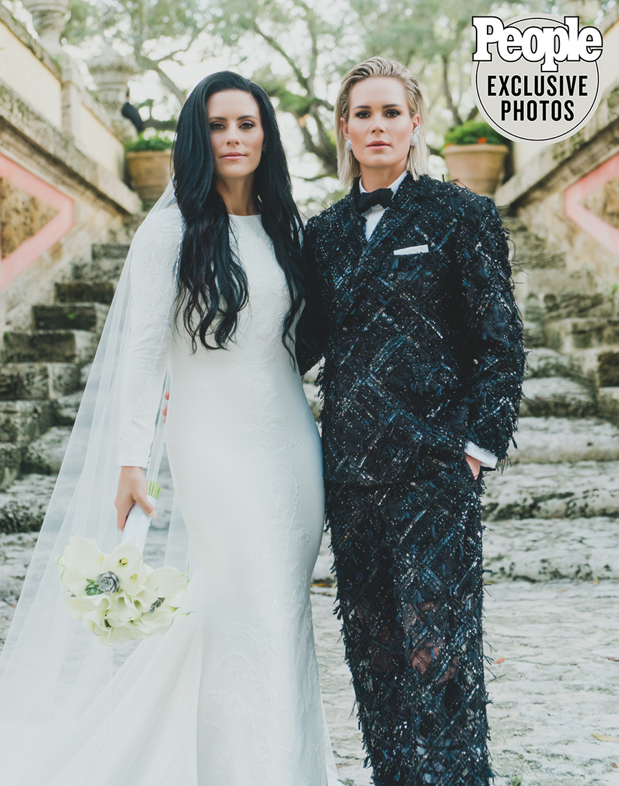 Ali Krieger and Ashlyn Harris Wedding