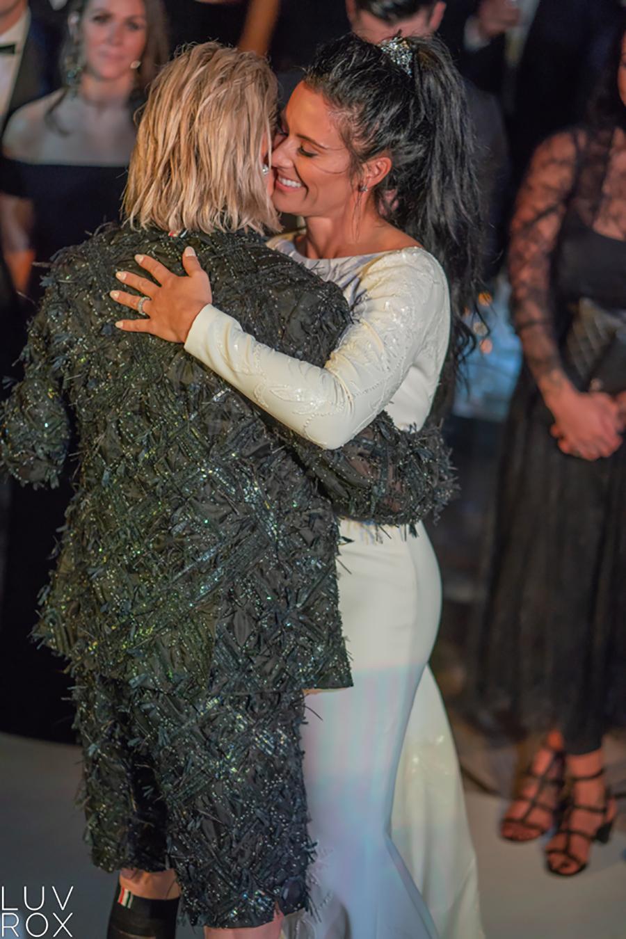 Ali Krieger and Ashlyn Harris Wedding
