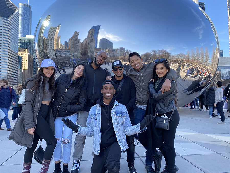 MC Ross B, DJ Volume and RWU Dancers take over Chicago