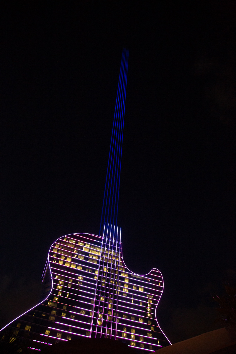 Ross B and DJ Slim Rok at the grand opening The Guitar Hotel ata Seminole Hard Rock